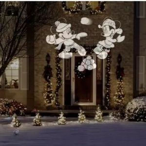 DISNEY MICKEY MINNIE White LED PROJECTOR SPOTLIGHT